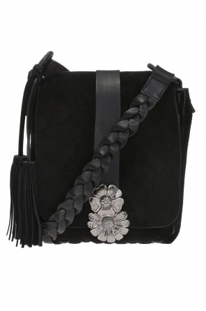 Floral motif shoulder bag od Saint Laurent