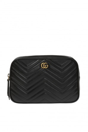 'gg marmont' belt bag with logo od Gucci