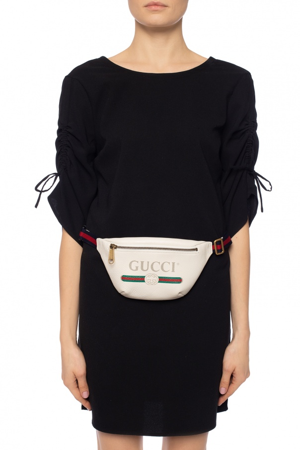 'web' stripe belt bag od Gucci