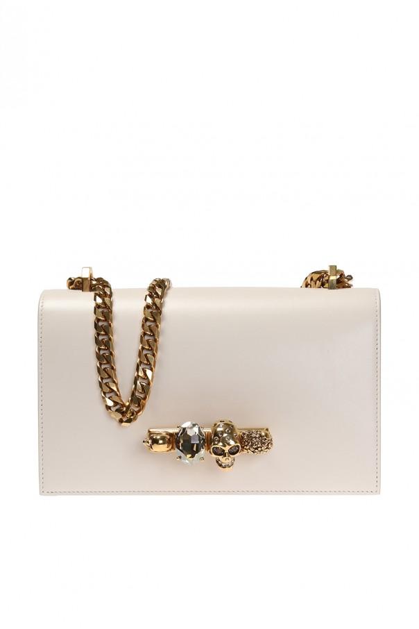 d5fae4b53f7b49 Jewelled Satchel  shoulder bag Alexander McQueen - Vitkac shop online