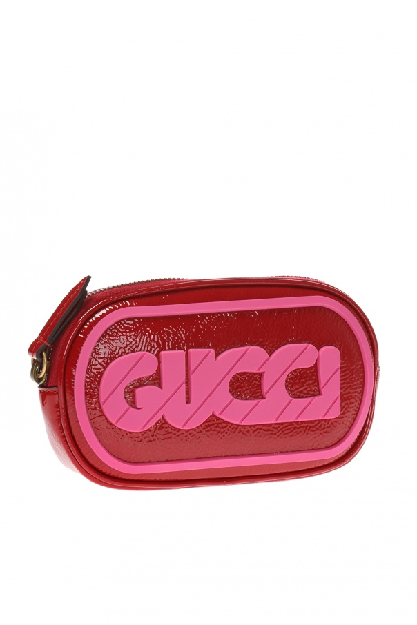 bf13701530b Belt bag with rubber logo Gucci - Vitkac shop online
