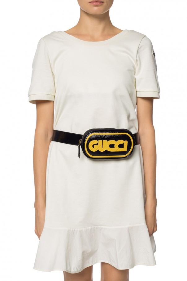 e46d40151057 Belt bag with rubber logo Gucci - Vitkac shop online