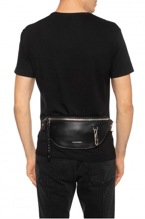 Leather belt bag od Alexander McQueen