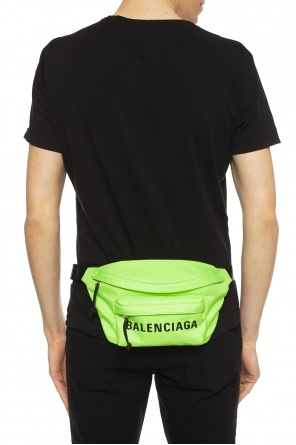 Logo-embroidered belt bag od Balenciaga