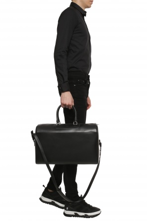 f6adc317c20 Holdall bag with logo od Saint Laurent ...