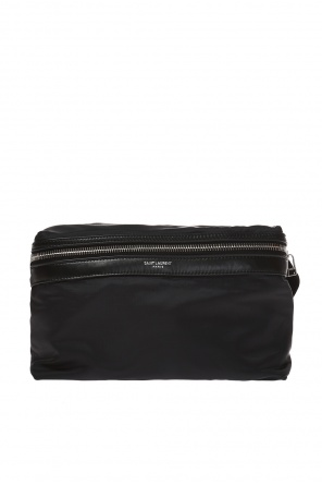 'foldable city' belt bag with logo od Saint Laurent