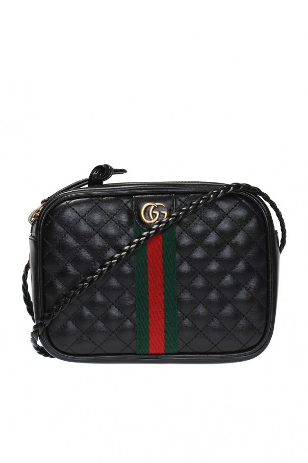 dcfb82d9cac Quilted shoulder bag with  Web  motif Gucci - Vitkac shop online