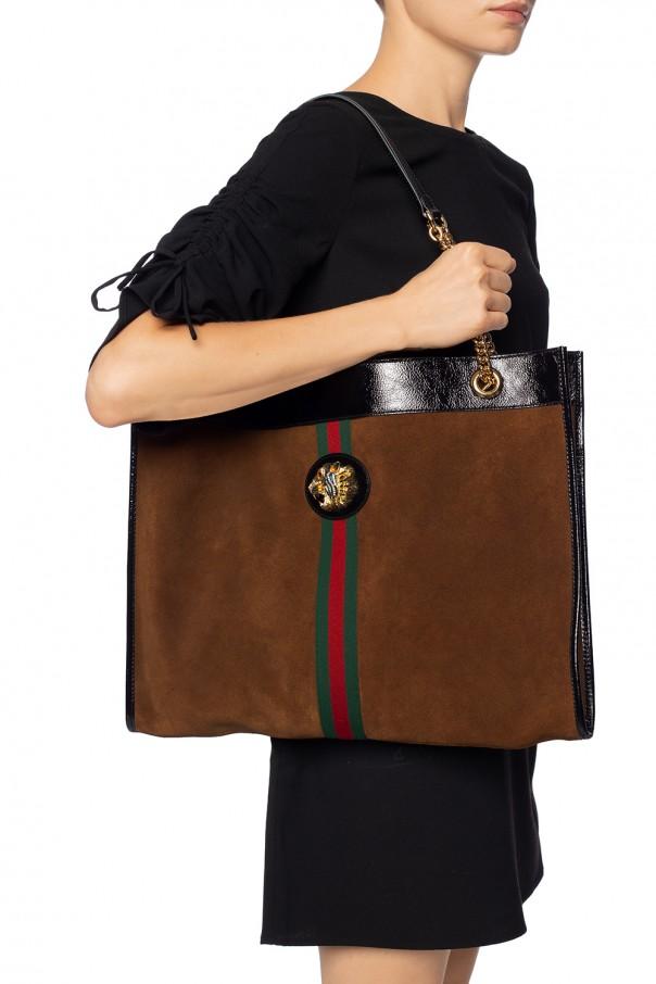 5b01f07ce02 Rajah  shoulder bag with metal tiger head Gucci - Vitkac shop online