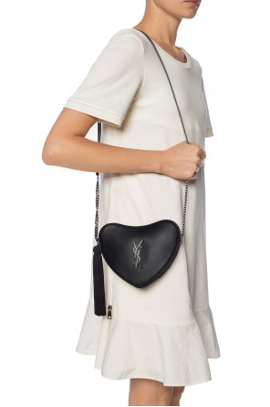 'monogram heart' shoulder bag od Saint Laurent