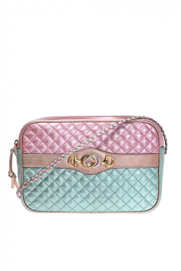 0c97db927a3 Trapuntata  shoulder bag with logo Gucci - Vitkac shop online