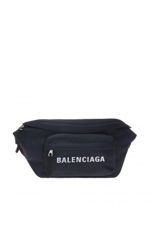 Waist bag with an embroidered logo od Balenciaga