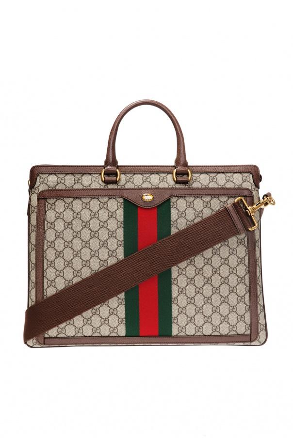 8509c9a2d GG Supreme' canvas briefcase Gucci - Vitkac shop online