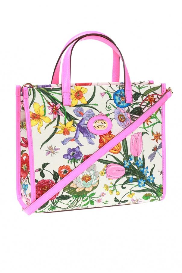 0e84b08f6 Flora' patterned shoulder bag Gucci - Vitkac shop online