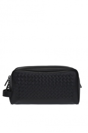 'intrecciato' pattern wash bag od Bottega Veneta