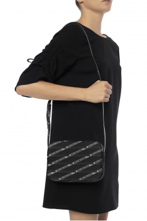 'everyday' patterned shoulder bag with logo od Balenciaga