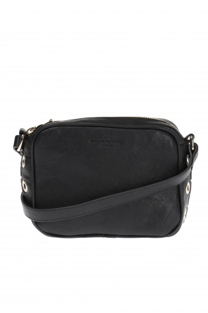 Leather shoulder bag od Sonia Rykiel