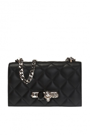 Ring motif shoulder bag od Alexander McQueen