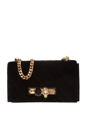 Shoulder bag with a ring motif od Alexander McQueen