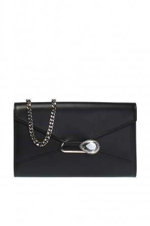 Crystal-embellished shoulder bag od Alexander McQueen