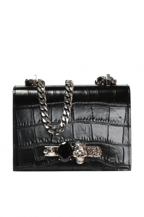 ... Shoulder bag with a ring motif od Alexander McQueen dfd0acd8f04db
