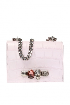 ... Shoulder bag with swarovski crystals od Alexander McQueen cc52b52a52bd5
