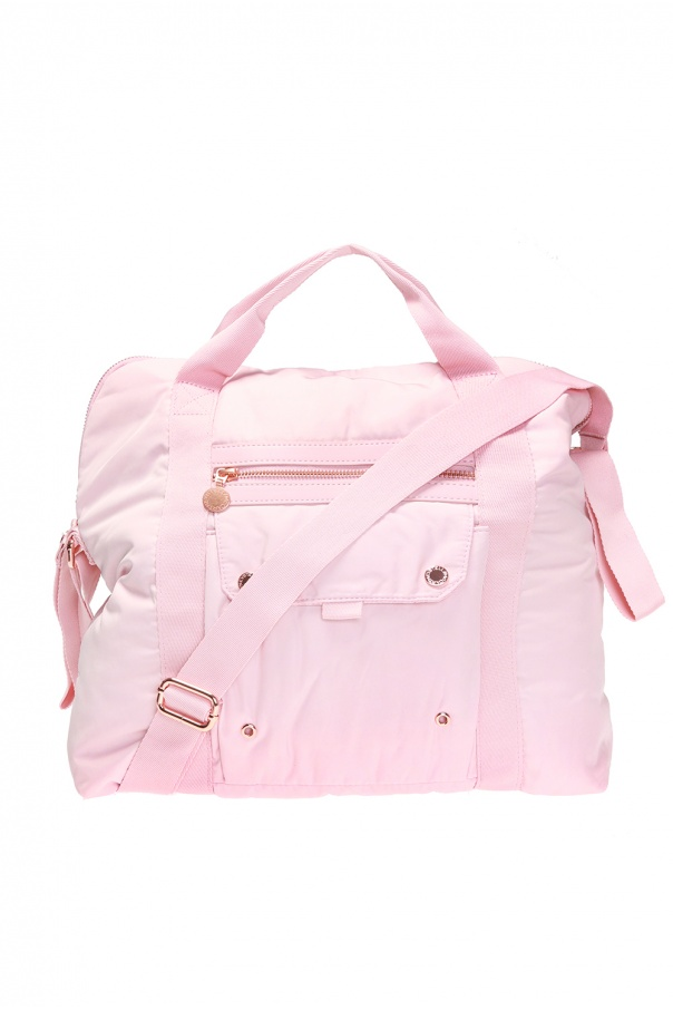 Stella McCartney Kids Stroller bag with logo