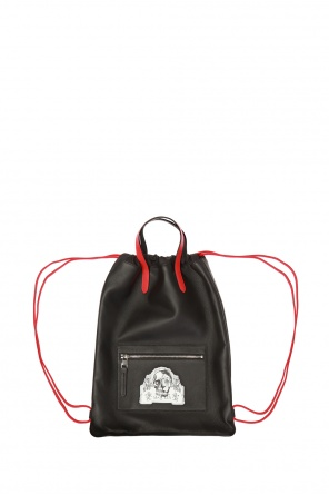 Logo-patched backpack od Alexander McQueen
