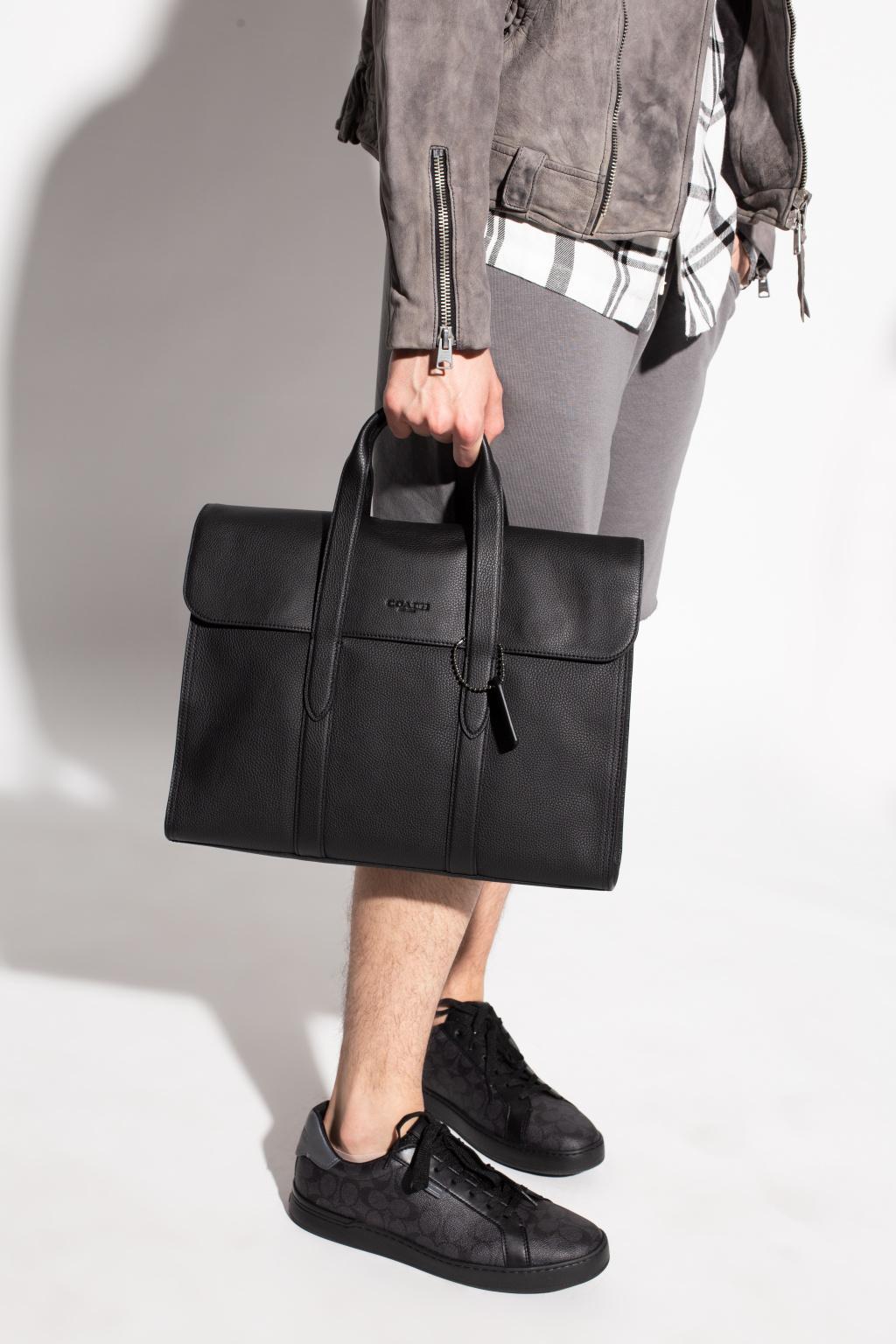 Coach 'Metropolitan Portfolio' laptop bag