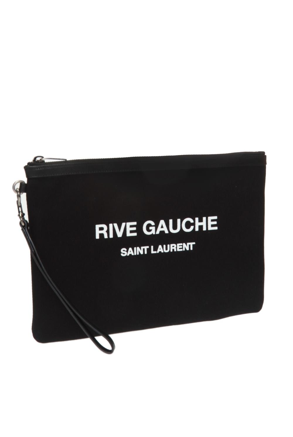 Saint Laurent Logo-printed clutch