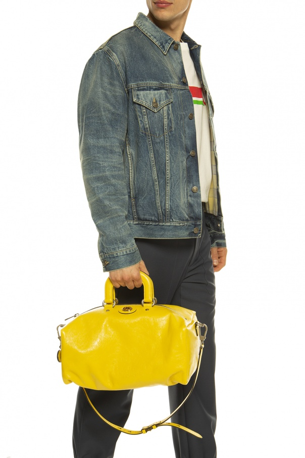 Leather shoulder bag od Gucci