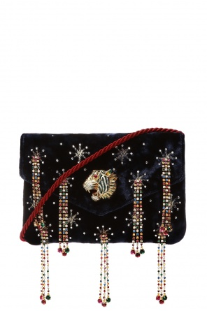 Embellished shoulder bag od Gucci