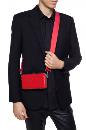 Clutch with shoulder strap od Bottega Veneta
