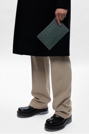 'intrecciato' weave pouch od Bottega Veneta