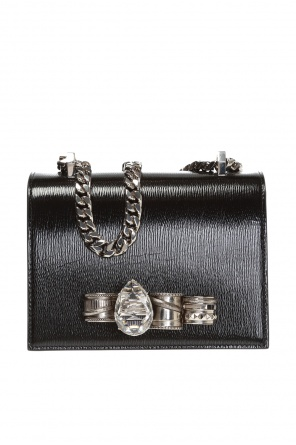 Shoulder bag with ring motif od Alexander McQueen