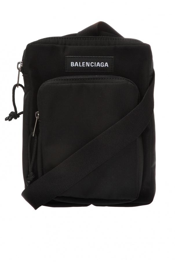 Logo Shoulder Bag by Balenciaga