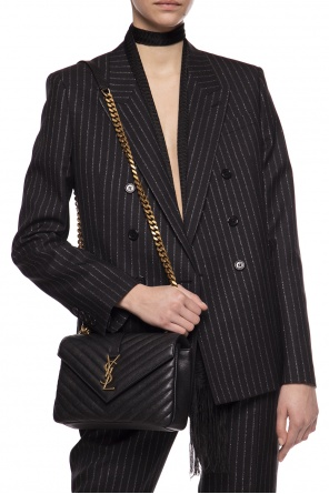 'monogram' quilted shoulder bag od Saint Laurent