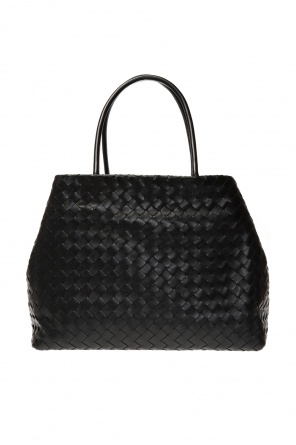 Leather shopper bag od Bottega Veneta