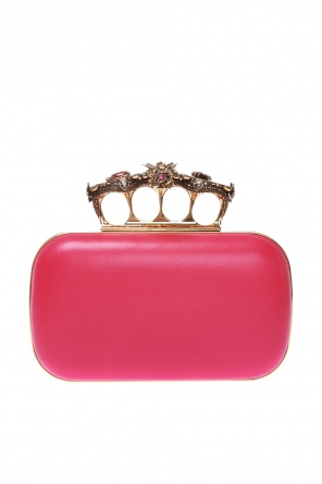 Clutch with logo od Alexander McQueen