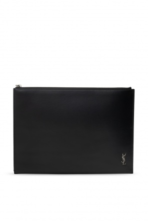 Clutch with logo od Saint Laurent