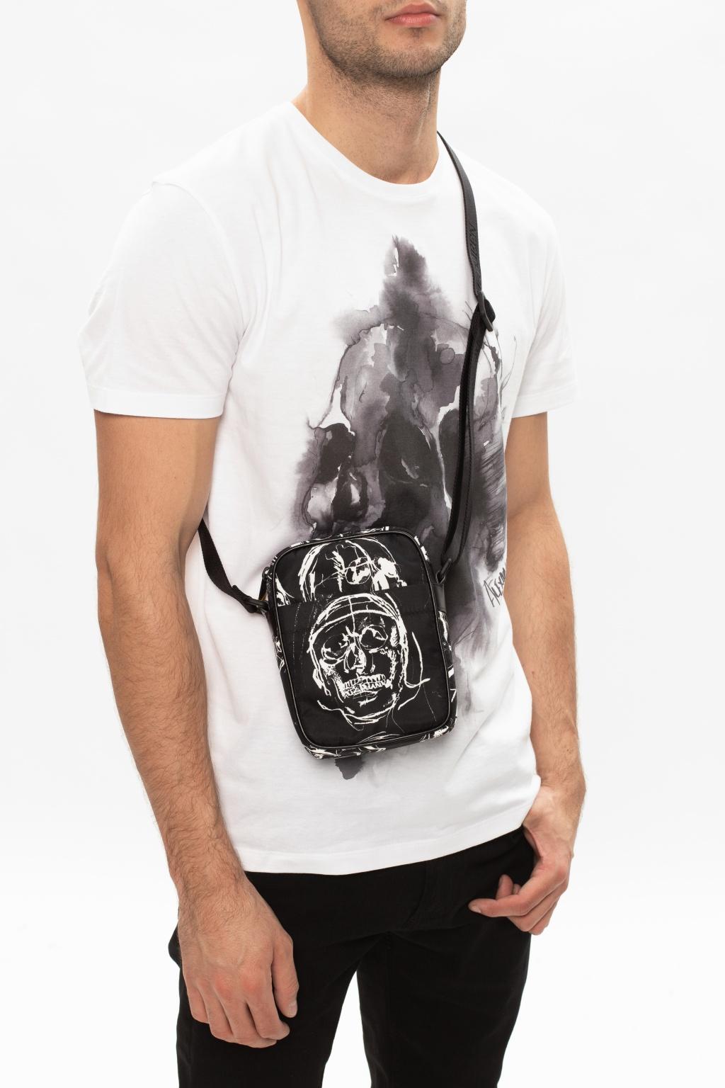 Alexander McQueen Printed shoulder bag