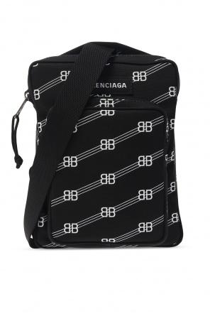 Plecak z logo 'shotter' od Balenciaga