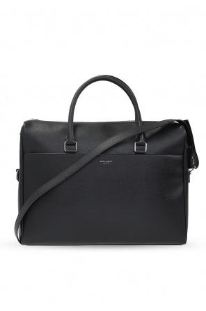 Leather briefcase od Saint Laurent