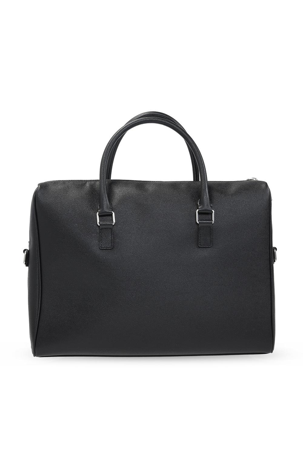 Saint Laurent Leather briefcase