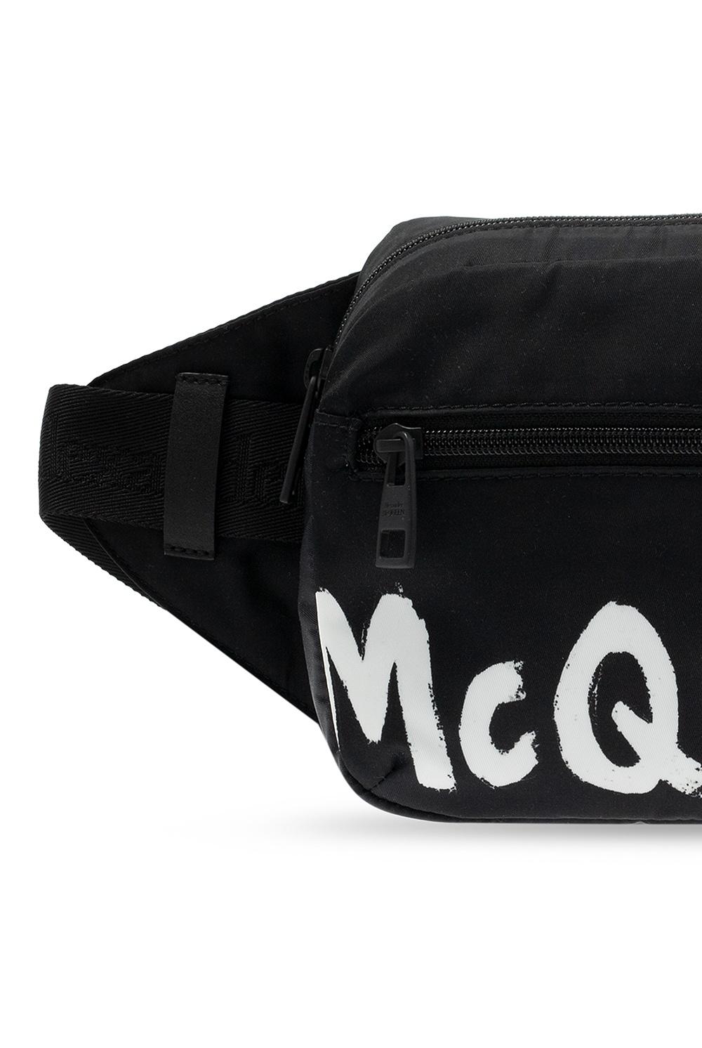 Alexander McQueen Branded belt bag