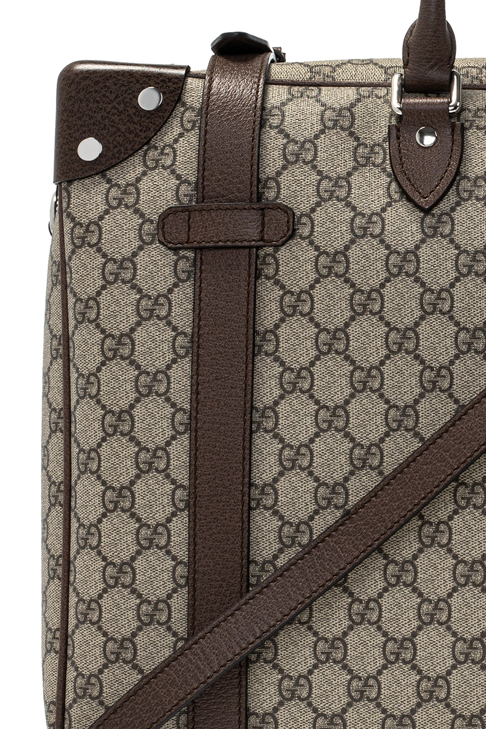 Gucci Holdall bag with logo