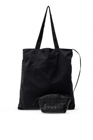 Shopper bag with pouch od Bottega Veneta