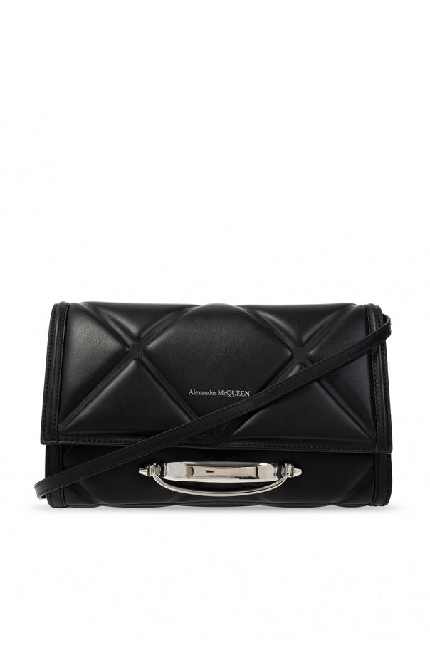 Alexander McQueen Shoulder bag with metal handle