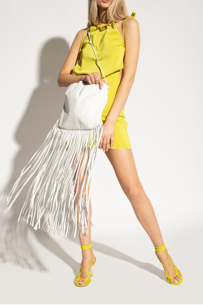 Fringed shoulder bag od Bottega Veneta