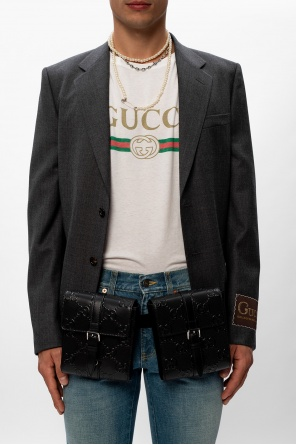 Belt pouches with logo od Gucci