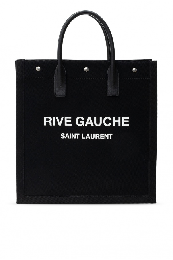 Saint Laurent Shopper bag with logo